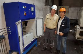 IB Asia and REBS successfully installed air oil lubrication at Millcon Rayong mill